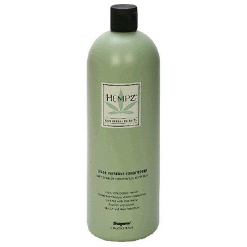 Hempz Pure Herbal Extracts Color Preserve Conditioner, 33.8 fl oz (1 l)