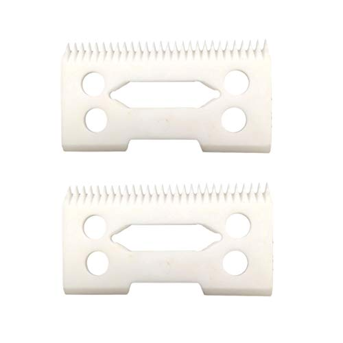 professional ceramic clipper blades 2 hole2-Hole Clipper ceramic Blade cutter,ceramic clipper replacement blades for Wahl Senior cordless Clipper, Wahl Magic clip, wahl sterling senior - Ceramic Clipper