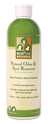 Our Pets ecoPure Odor and Spot Remover, 16 Ounce, My Pet Supplies