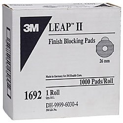 3M 1692 Round Leap III Pad for Weco Blocks 26 mm (roll of...