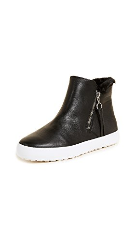 High Minkoff Sneakers Shelly Women's Rebecca Top Zip Black xwpqIaYS