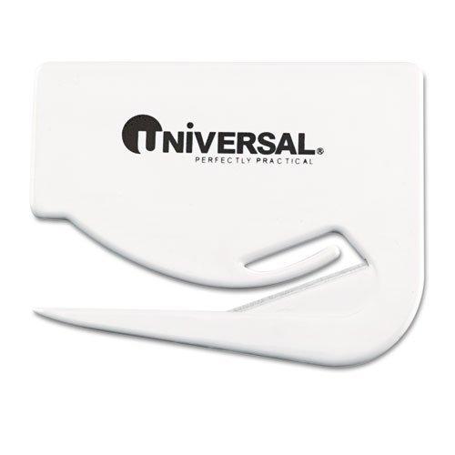 UNV31803 - Letter Slitter Hand Letter Opener w/Concealed Blade (Pack of Three) Universal Letter Opener