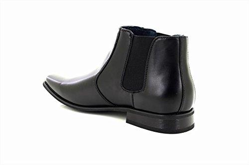 Goor - Botines chelsea hombre, color negro, talla 39.5
