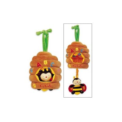 K's Kids Musical Pull Bee Hive (Discontinued by Manufacturer) : Baby Musical Toys : Baby
