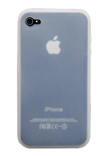 Coque en Silicone Cover Housse Euit pour Apple iPhone 4 / 4S /4G - Transparent