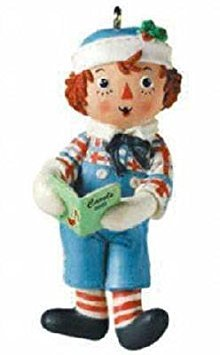 Hallmark Keepsake Ornament Raggedy Andy 2001
