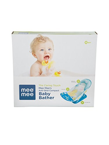 Mee Mee Anti Skid Baby Bather  Bath Seat  Blue  Amazon in  Baby. Mee Mee Baby Bather Online India. Home Design Ideas
