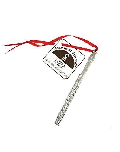 USA Handmade Flute Musical Wind Instrument Christmas Ornament