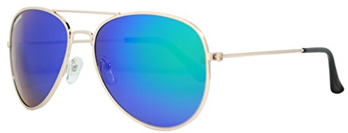 de Green Gafas POLARIZADAS Gold cristal Corleonne espejo sol 8twdCrq6w