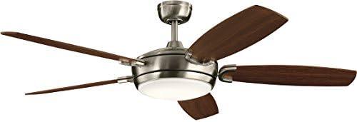 Kichler 300256BSS Trevor II 60″ Ceiling Fan