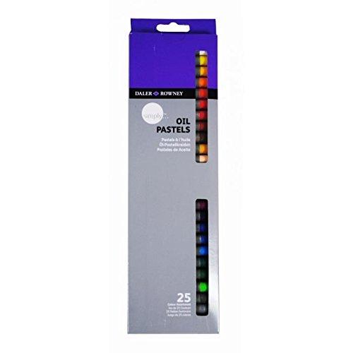 Daler Rowney Simply 25 Oil Pastels ()