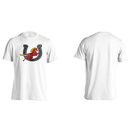 Neues Pferd Tanzt Schön Herren T-Shirt l572m