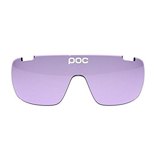 POC DO Half Blade Spare Lenses Violet 28,4 & HDO Knit Cap Bundle