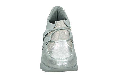 Xti platinium Sin Zapatillas 47785 Cordones Para Plateado Mujer qxUqwZzH