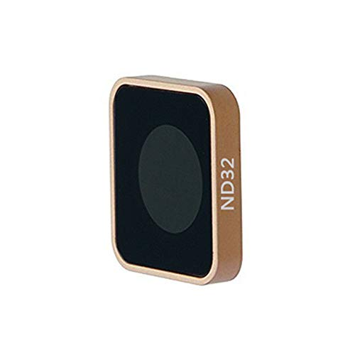 1pcs CNC Aluminum ND4 ND8 ND16 ND32 Gradient Red Blue Orange Grey Lens Filter for GoPro Hero 5 6 7 Black Action Camera (ND32)