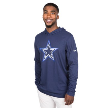 26a43d092 Image Unavailable. Image not available for. Color  Dallas Cowboys Nike Dri-Blend  Hood Tee