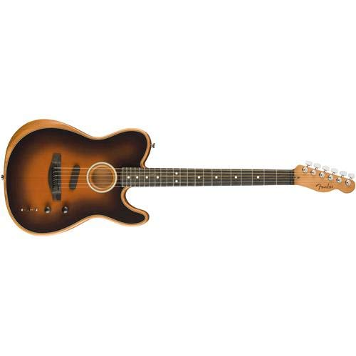 Fender American Acoustasonic Telecaster Acoustic-Electric Guitar Sunburst
