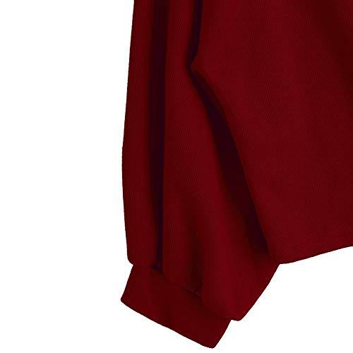 Manches Applique Cordon Serrage Longues Capuche Pull Sweat Du Femme Lettre Couleur Section de Manches Sweat Longue Chic Unie Mince imprimes Chemise Shirt avec Tops Shirt Vin Femme 76AavU