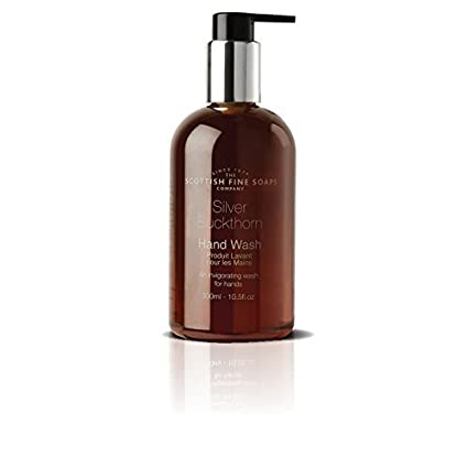 Scottish Fine Soaps Silver Buckthorn Liquid Hand Wash 2 Pack, Spicy with Black Pepper, Nutmeg & Ginger 5016365013222