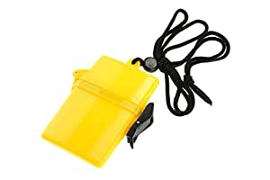 SE WP686 Waterproof Storage Container with Lanyard for Travel, Beach and Cruise Ships (colors may vary)