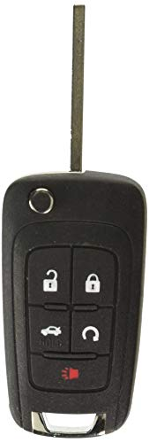 General Motors OEM GM Chevrolet Flip Key Keyless Entry Remote Fob (FCC ID: OHT01060512 / P/N: 13504199, 13500221)