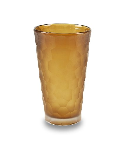 Impulse! Set of 4 Dwell Tumbler Glasses, Topaz (Water Topaz Goblet)