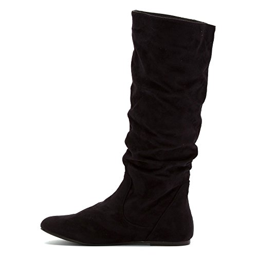 High Toucan Black Wanted Knee Boot Y7zcaq