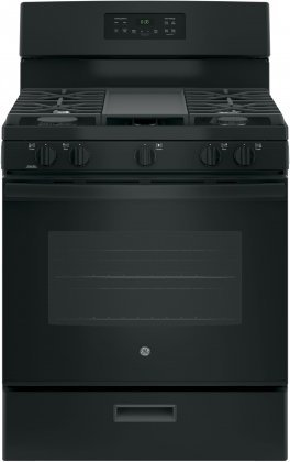 black gas stove and oven - 6