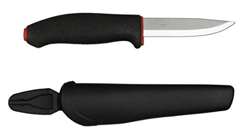 - Morakniv Allround Multi-Purpose Fixed Blade Knife with Carbon Steel Blade, 4.0-Inch