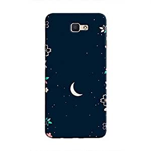 Cover It Up - Flower Moon Galaxy J5 Prime Hard Case