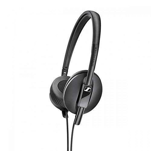 Sennheiser HD 100 Lichte, opvouwbare on-ear hoofdtelefoon, zwart