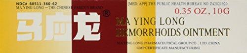 MaYingLong Musk Hämorrhoiden-Salbe Creme 1 x 10 g