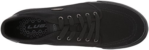 Lugz Heren Rivington Midi Sneaker Zwart / Zwart