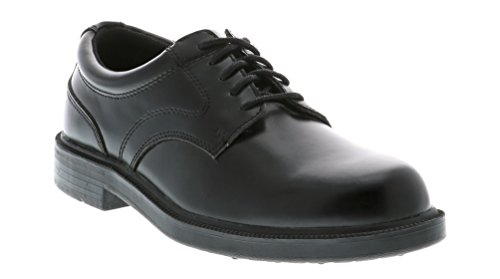 Deer Stags Men's Times Plain Toe Oxford,Black,12 M