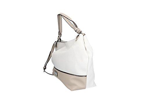fbee441014e5f Tasche damen schulter PIERRE CARDIN weiß ffnung zip mit Schultergurt VN1254  ...