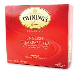 Twinings B80816 Twinings English Breakfast -6x50 Bag
