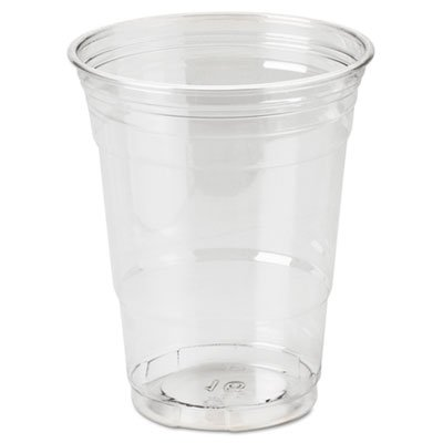 Clear Plastic PETE Cups, Cold, 16 oz, WiseSize Packs