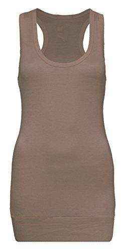 Camiseta tipo tank de mujer de tirantes compra 4y consigue 5–Camiseta–Top tank Hell Kaffee