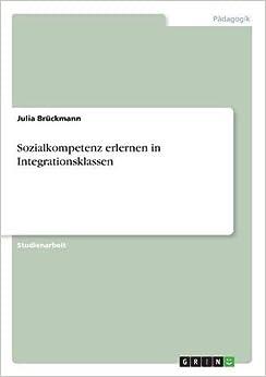 Book Sozialkompetenz erlernen in Integrationsklassen