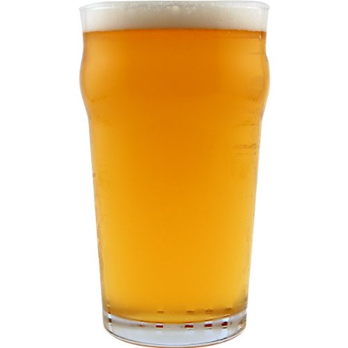 Authentic British Style Imperial Pint Nonic Glass with etched seal - 2 (Tavern Pint Glass)