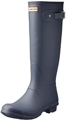 Hunter Original Tall Women's Boots, Gull Grey, 6 US