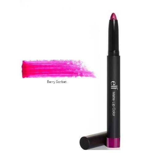 Matte Berry - Elf Cosmetics Studio Matte Lip Color 82472, Berry Sorbet, 0.3 Ounce