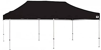 timeless design 2c3f6 41848 Impact Canopy 10x20 Pop Up Canopy Tent Commercial Grade Aluminum Portable  Shelter-Black
