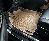 weathertech 2013 silverado mats - WeatherTech Custom Fit Front FloorLiner for Cadillac Escalade, Tan