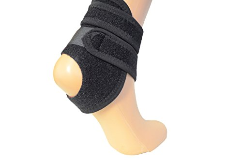 Neoprene Kids Ankle Support - Compression Strap Achilles tendon brace sprain NHS – Perfect for all sporting activities and a lightweight support (UNIVERSAL)