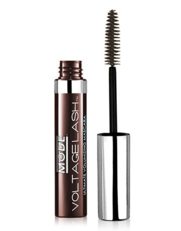 Brown Chocolate Mascara (MODE Voltage Lash Ultimate Volumizing Mascara (Mocca Chocolata) - Lengthening and Thickening Natural Formula in richly decadent dark chocolate brown by Mode Cosmetics)