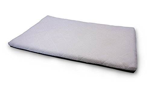 UPC 186734000292, Furhaven Pet Sherpa Top Orthopedic Faux Lambswool Mattress for Crates, X-Large, Cream