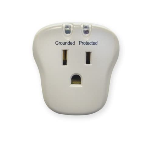 1 Outlet, Surge Protector, 540 Joules with EMI/RFI filter ( 100 PACK ) BY NETCNA