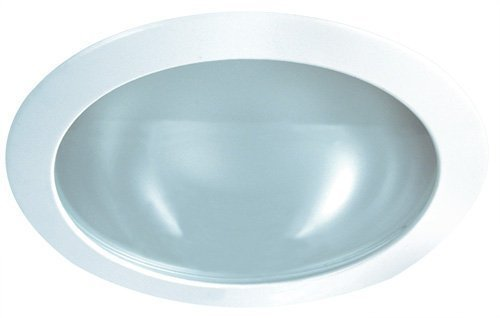 Elco Lighting EL23W S 6 Shower Trim with Frosted Lens and Narrow Trim Ring EL23