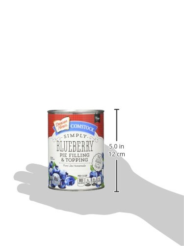 Comstock Simply Pie Filling & Topping, Blueberry, 21 Ounce (Pack of 8) by Comstock (Image #6)